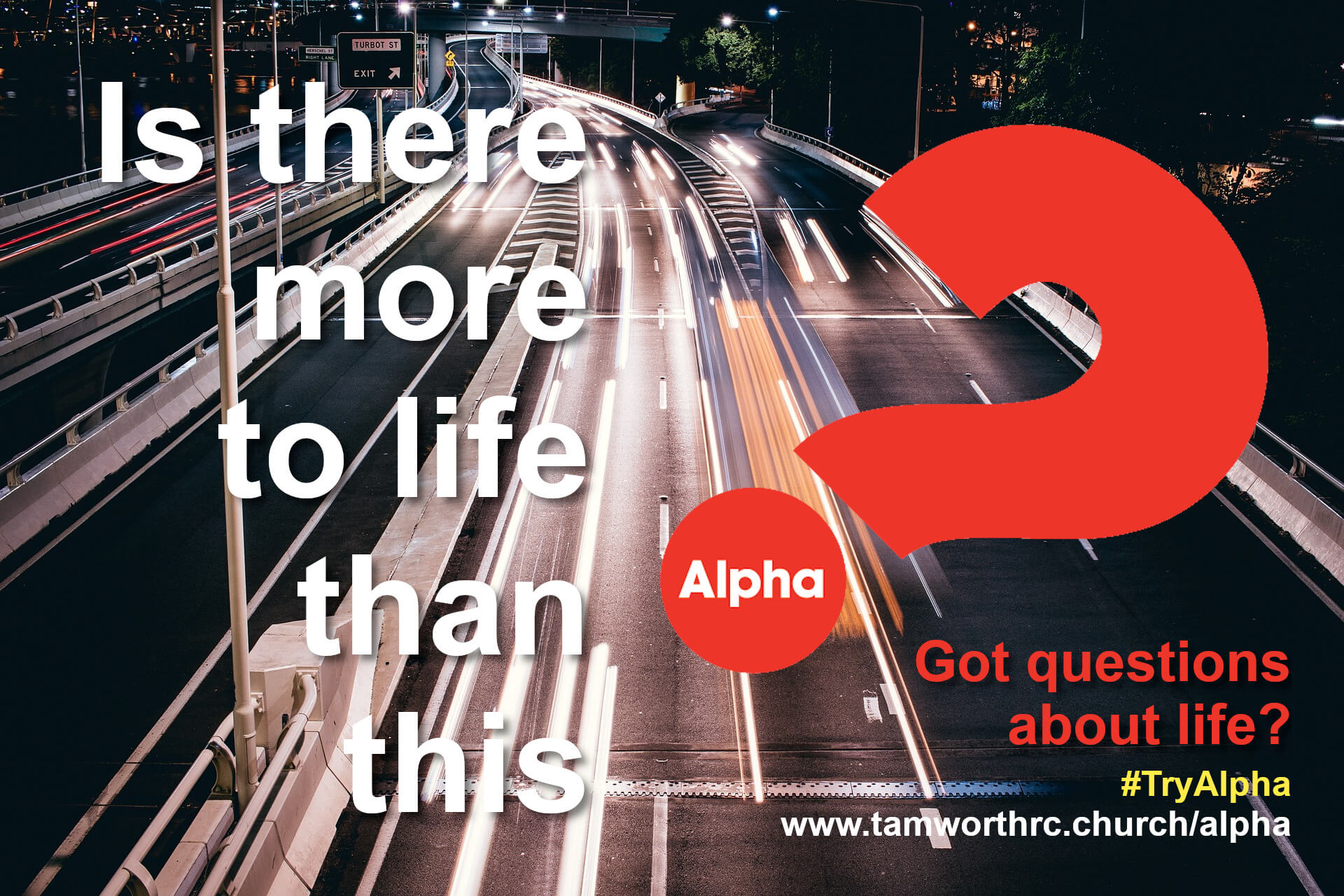 Alpha Course 21st and 26th September